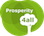 Logo of the Prosperity4all project