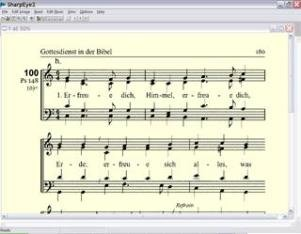 A screenshot of a section of sheet music displayed on a Windows device.