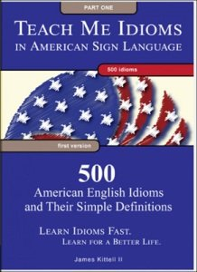 Cover of DVD set with series name at top in white letters against a blue background, a rounded image of the American flag in the middle against a white background, and a description of the series at the bottom against a blue background.