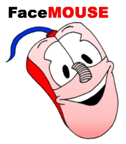 Software logo featuring a cartoon image of a smiling face on a computer mouse.