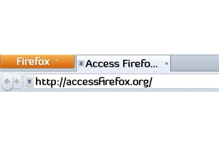 accessfirefox.org in URL bar