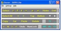 window with mouse control functions