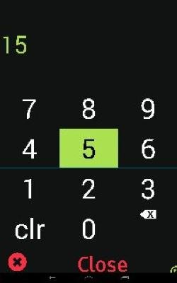 Equaleyes Accessibility number menu