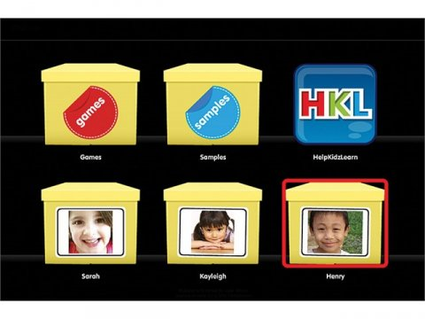MyZone home screen, showing various menu icons with different images against a black background.