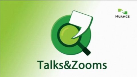 Talks & Zooms logo.
