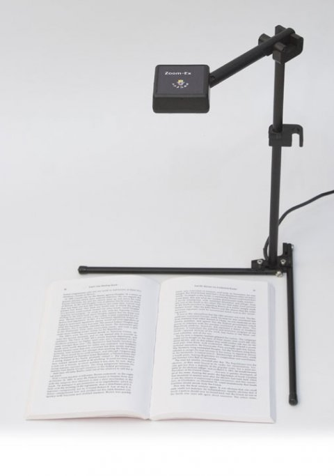 Free standing document camera.