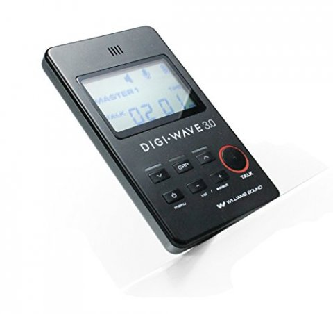 Small, handheld device that resembles a calculator with a led screen and control buttons.