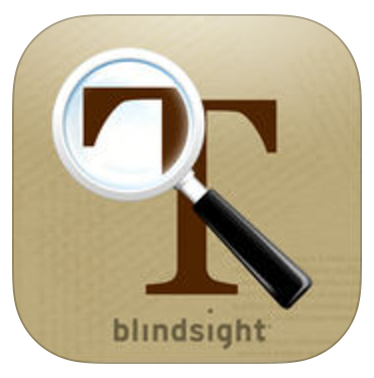 """A large, brown letter """"T"""", part of which is magnified by a magnifying glass."""