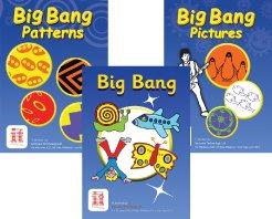Big Bang Patterns, Big Bang, and Big Bang Pictures software booklets.