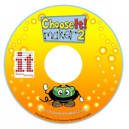 ChooseIT! Marker 2 Software DVD with switch animation on bottom and logo on top.