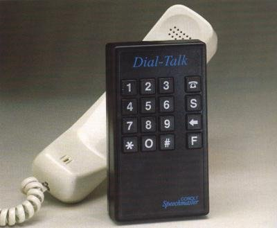 Number pad with telephone receiver.