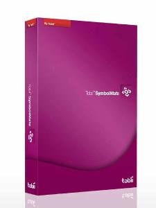 SymbolMate violet-colored software box.