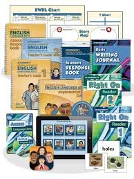 A montage of the software, worksheets, and workbooks that are part of the curriculum.