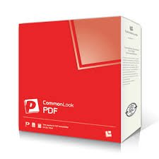 Angled view of software box with red cover and name of product in lower left corner.