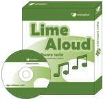 Angled view of lime-colored software box and CD placed in front of it.