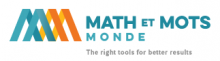 Math et Mots Monde Logo