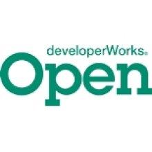 Open DeveloperWorks Logo.