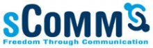 sComm logo