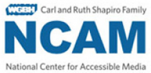 The Carl and Ruth Shapiro Family National Center for Accessible Media Logo