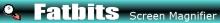 Fatbits Screen Magnifier Logo by Digital Mantra