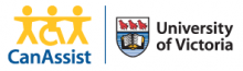 CanAssist, University of Victoria Logo
