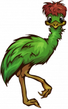 Emu from Emu Logo