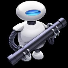 "macosxautomation.com Logo ""Otto the Automator"""