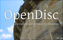 Open Disc Logo