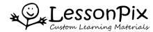 LessonPix Logo.