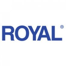 "The word ""Royal"" printed in bold, blue font against a white background."