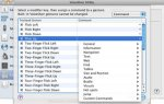 Screenshot of Mac OS Voiceover menu to assign voice commands.