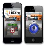 HiDOM SmartSet app open on the iPhone.
