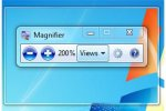 Screenshot of a Windows Magnifier tab with a portion of the screen magnified.
