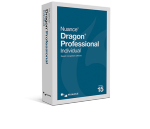 Dragon Professional Individual for PC in a blue software box.