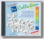A CD case featuring a collection of small black and white icons and the text SCHUBI PicCollection 2.