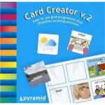 Card Creator packaging showing a partial board and cards.