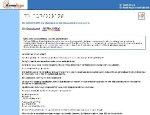 Screenshot of De Audiokrant showing lines of text.