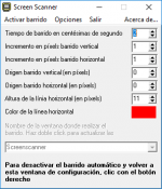A gray window with menu options in black text.