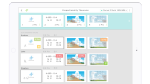 A Classkick's screenshot featuring detailed student responses in a 4x3 grid.