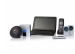 Speaker, computer, telephone, remote, and sensors that are compatible with the program.