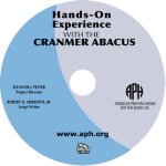 "A silver and blue DVD with ""Hands-On Experience With The Cranmer Abacus"" printed on the disc."